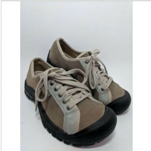 Keen Hiking Trail Beige Suede Leather Lace up